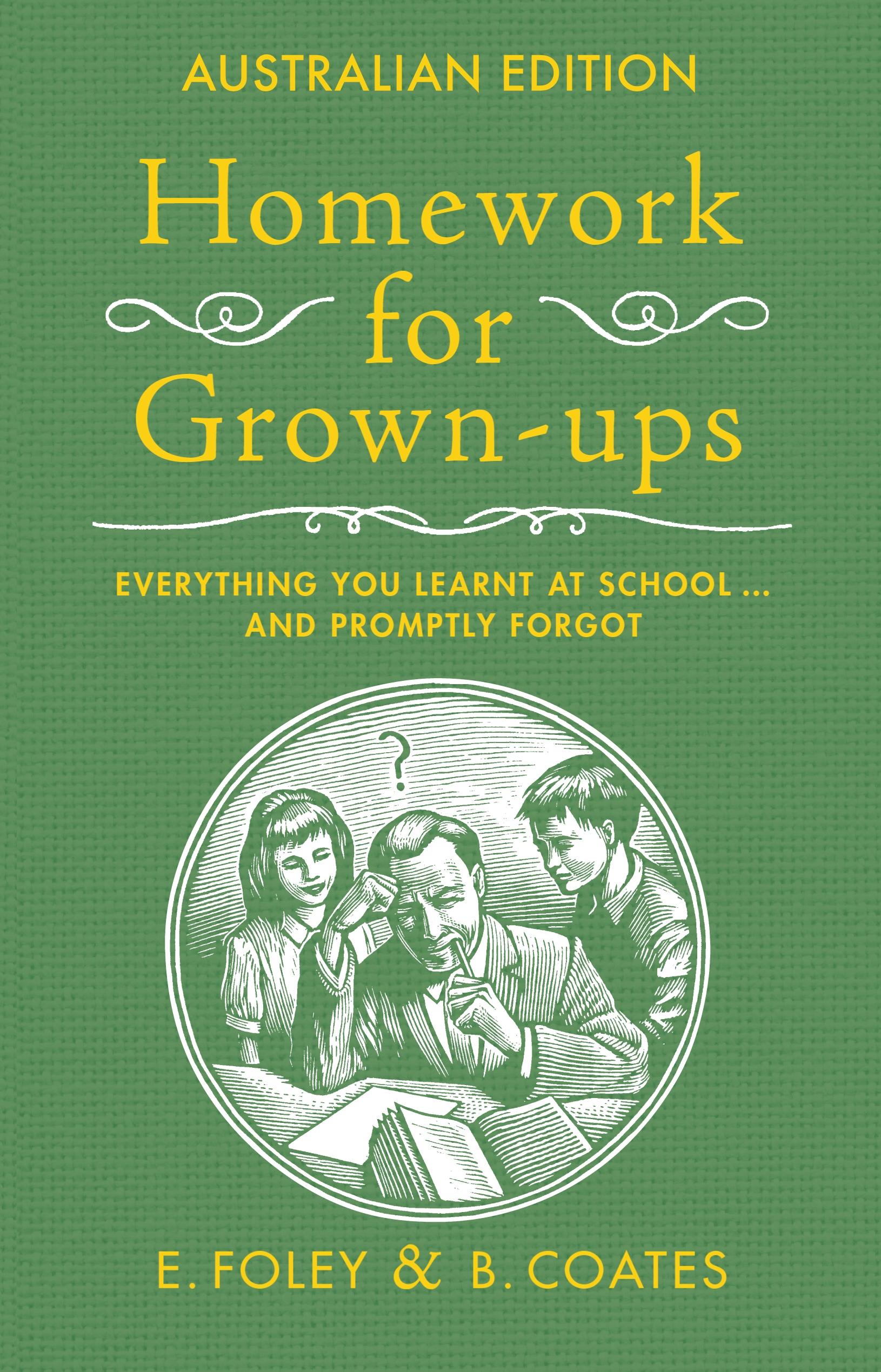 homework for grown ups book