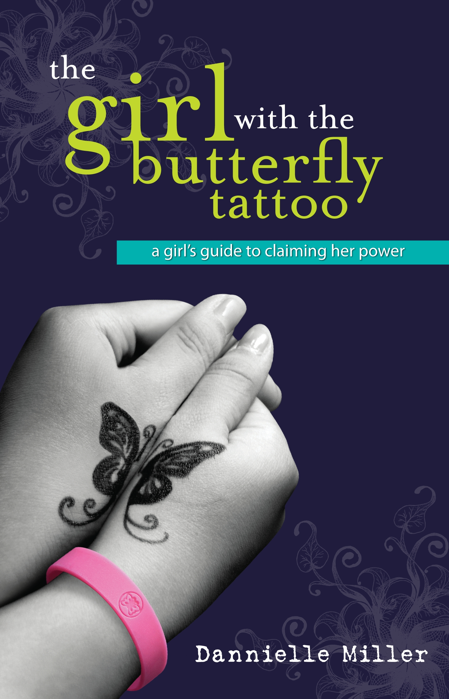 The girl with the butterfly tattoo by dannielle miller for Tattoo girl book