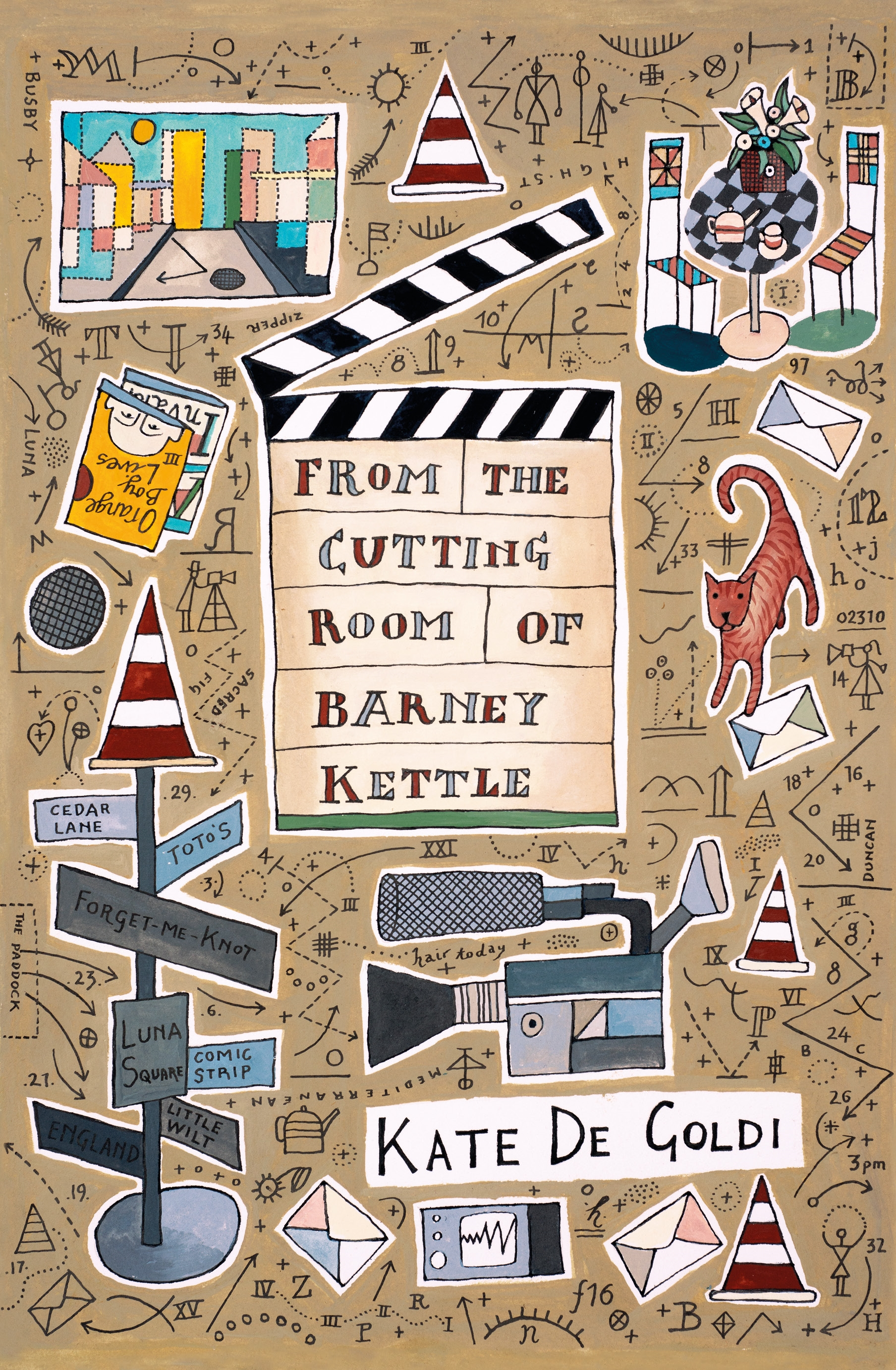 From the Cutting Room of Barney Kettle by Kate De Goldi - Penguin ...