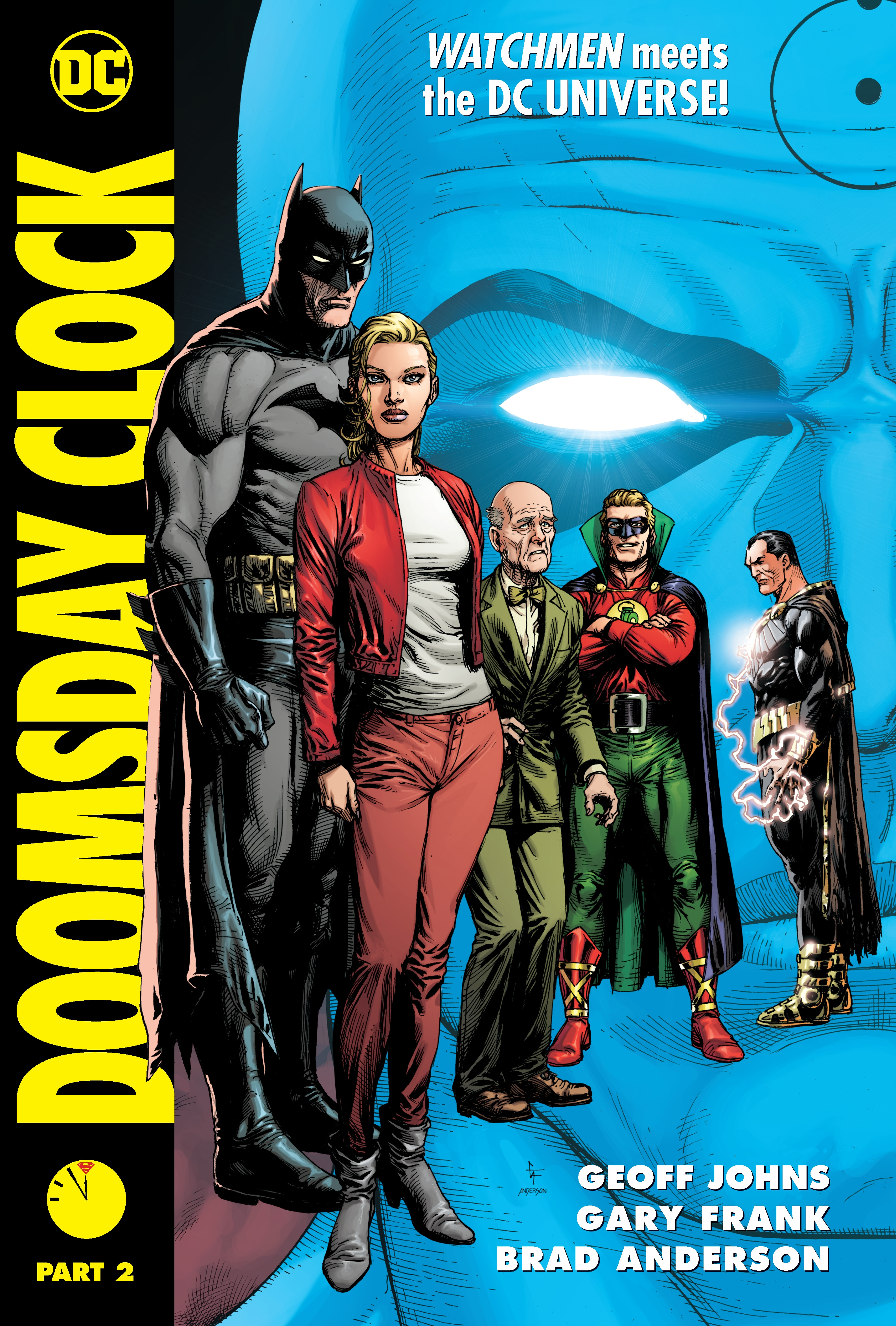 Doomsday Clock Part 2 By Geoff Johns Penguin Books Australia
