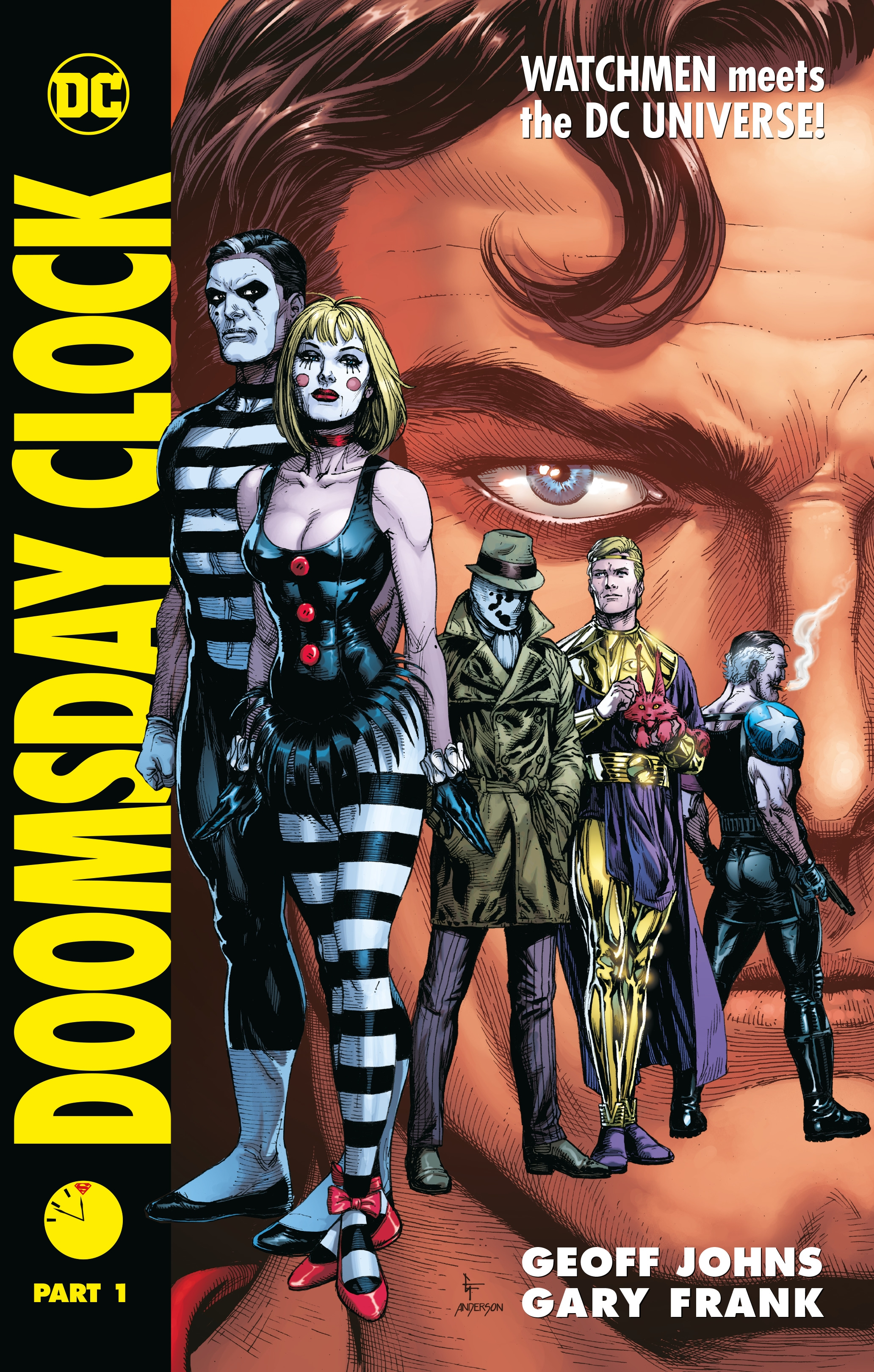 Doomsday Clock Part 1 By Geoff Johns Penguin Books Australia