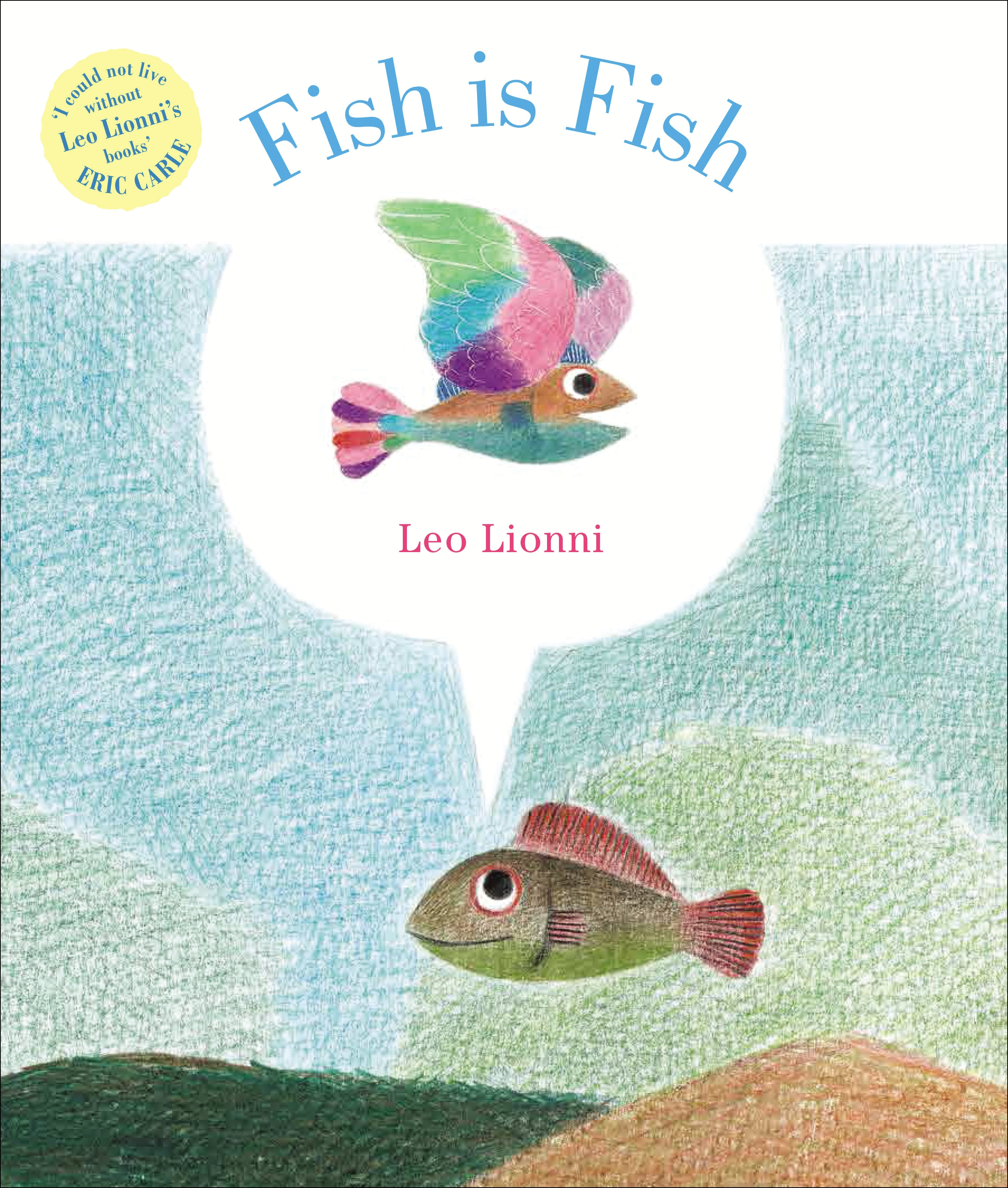 Fish is fish by leo lionni penguin books new zealand for Book with fish on cover