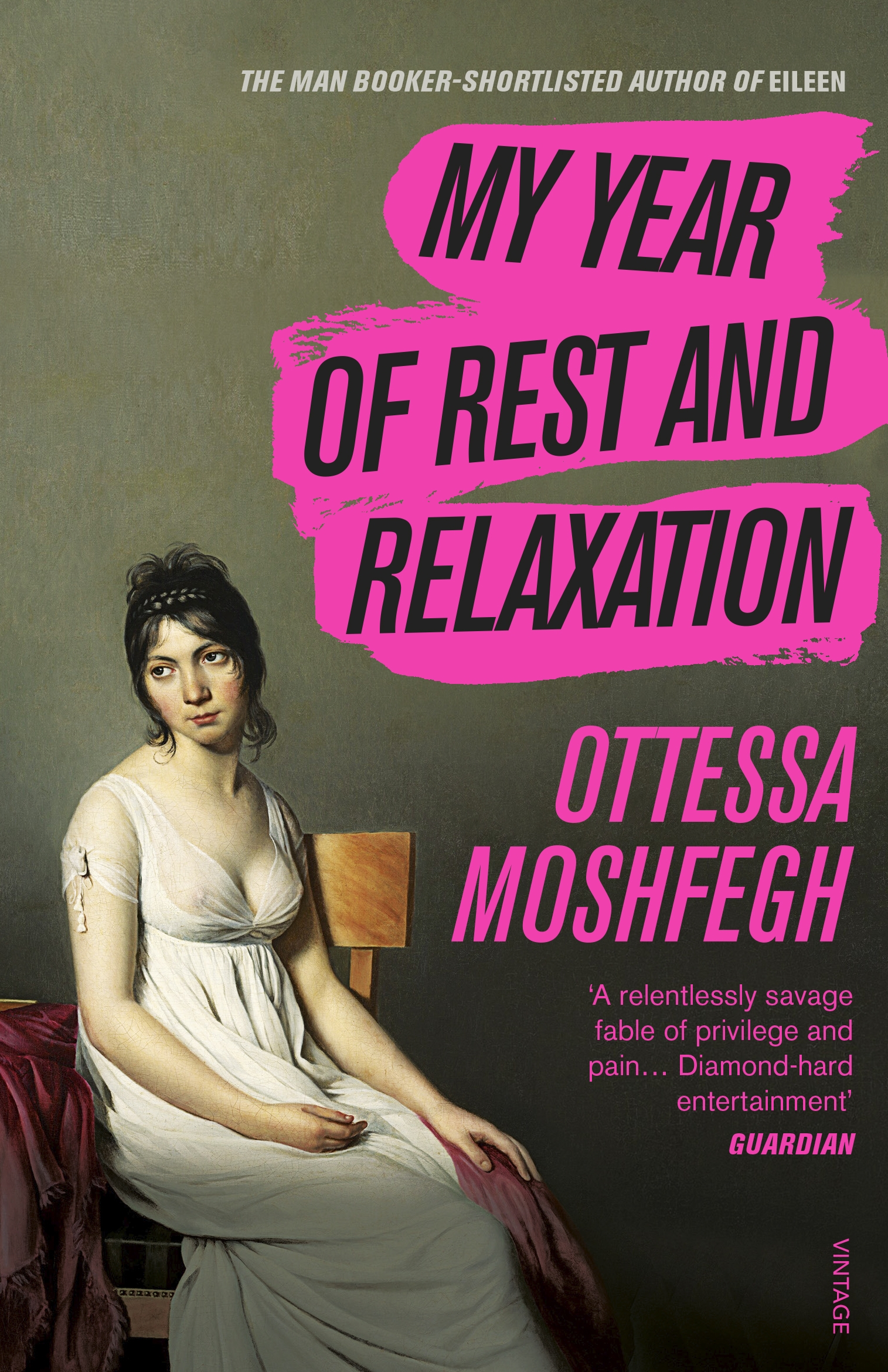 "Cover of ""My Year of Rest and Relaxation"""