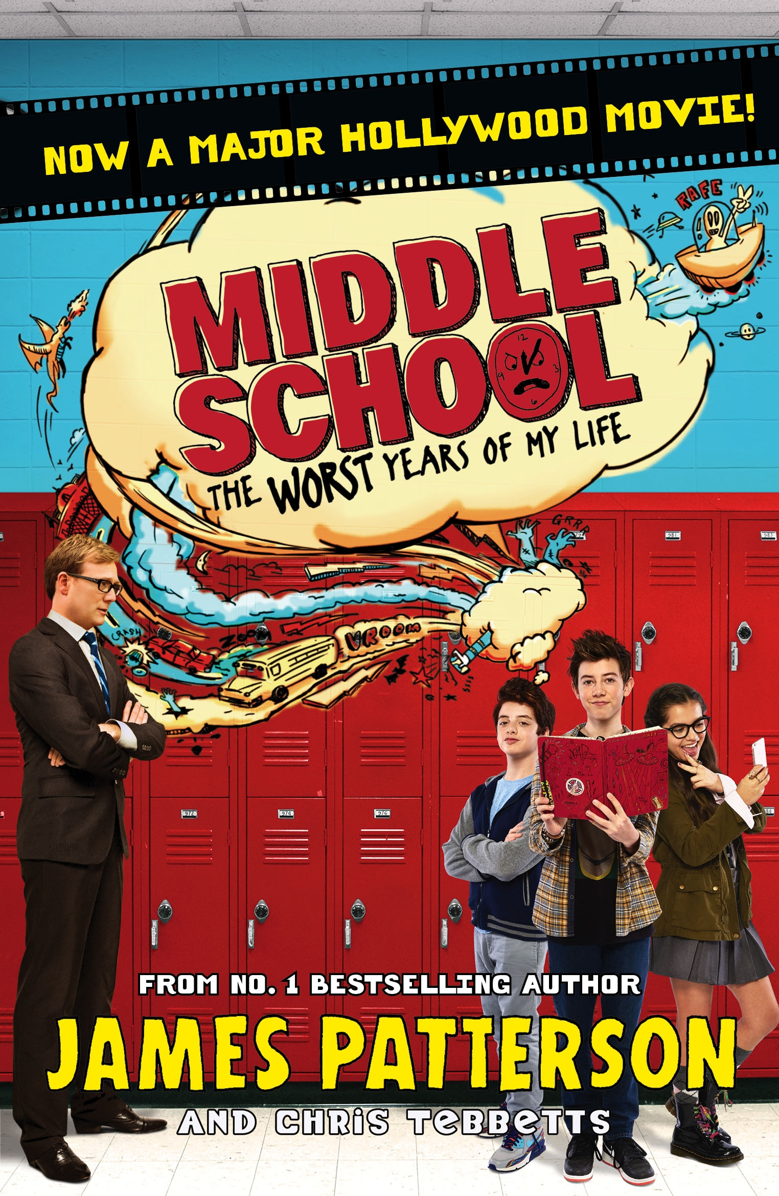 Middle School Book Cover : Middle school the worst years of my life by james