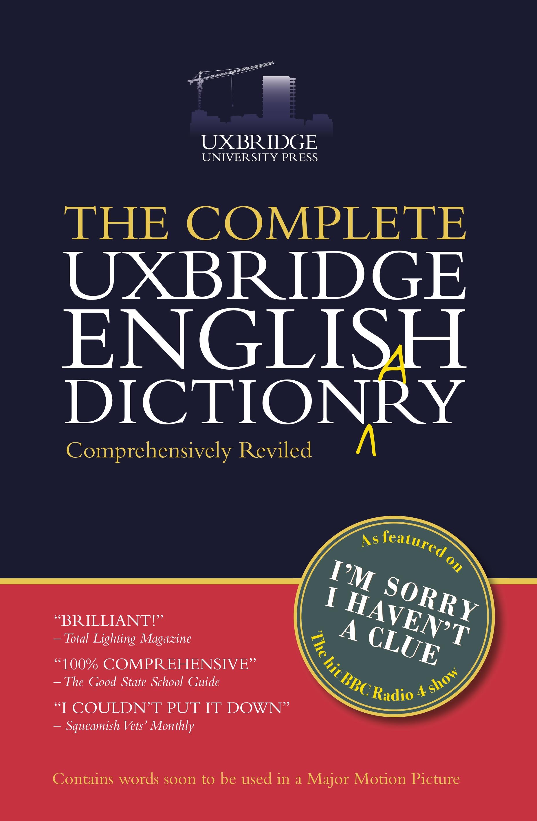English In Italian: The Complete Uxbridge English Dictionary By Graeme Garden