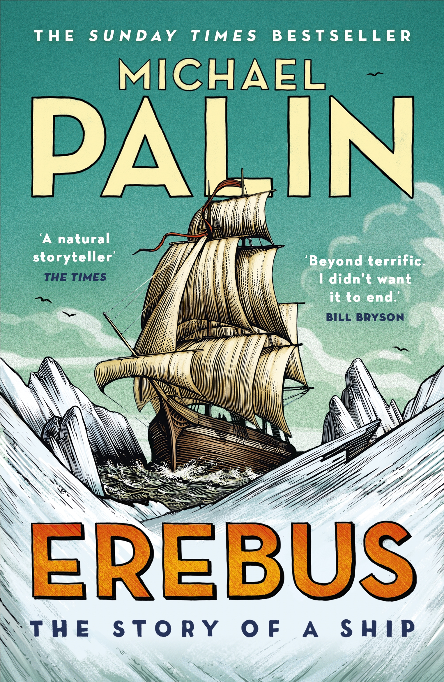 Erebus The Story Of A Ship By Michael Palin Penguin Books New Zealand