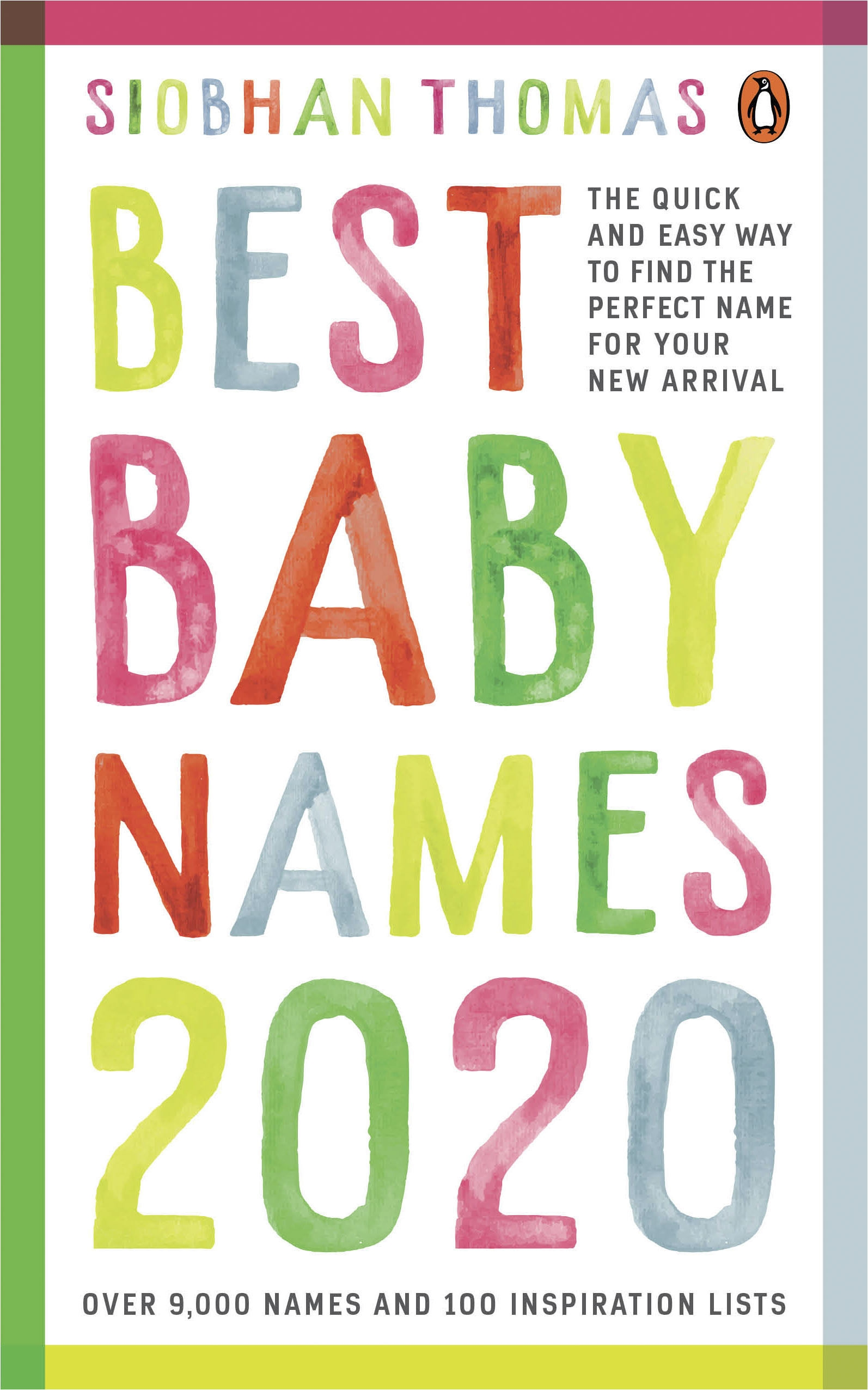 Best Baby Names 2020 Best Baby Names 2020 by Siobhan Thomas   Penguin Books New Zealand