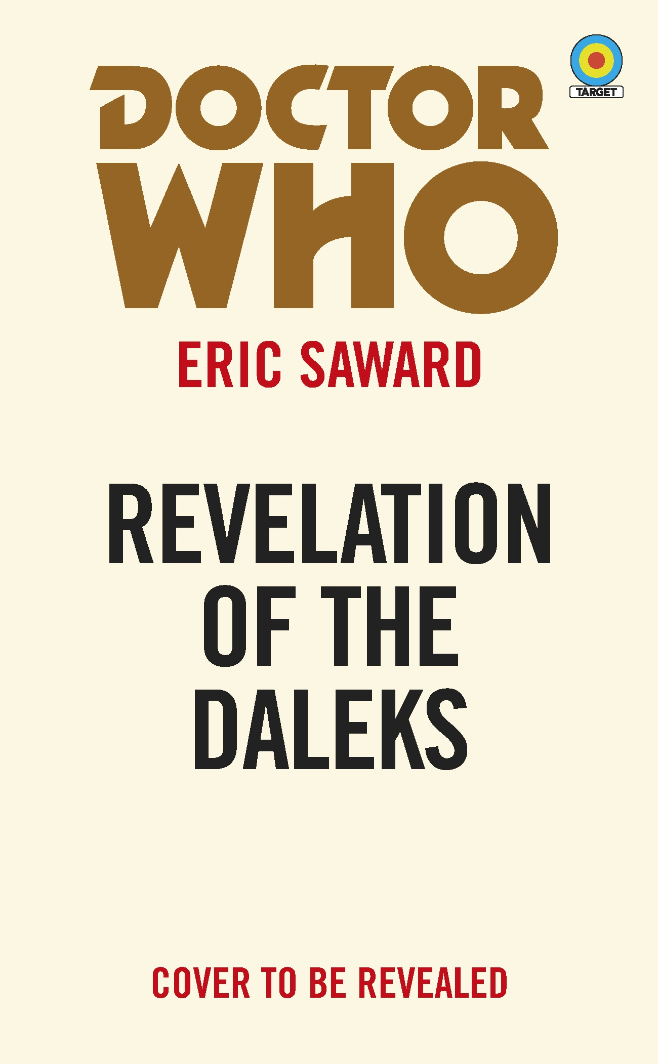DOCTOR WHO TARGET COLLECTION REVELATION OF THE DALEKS