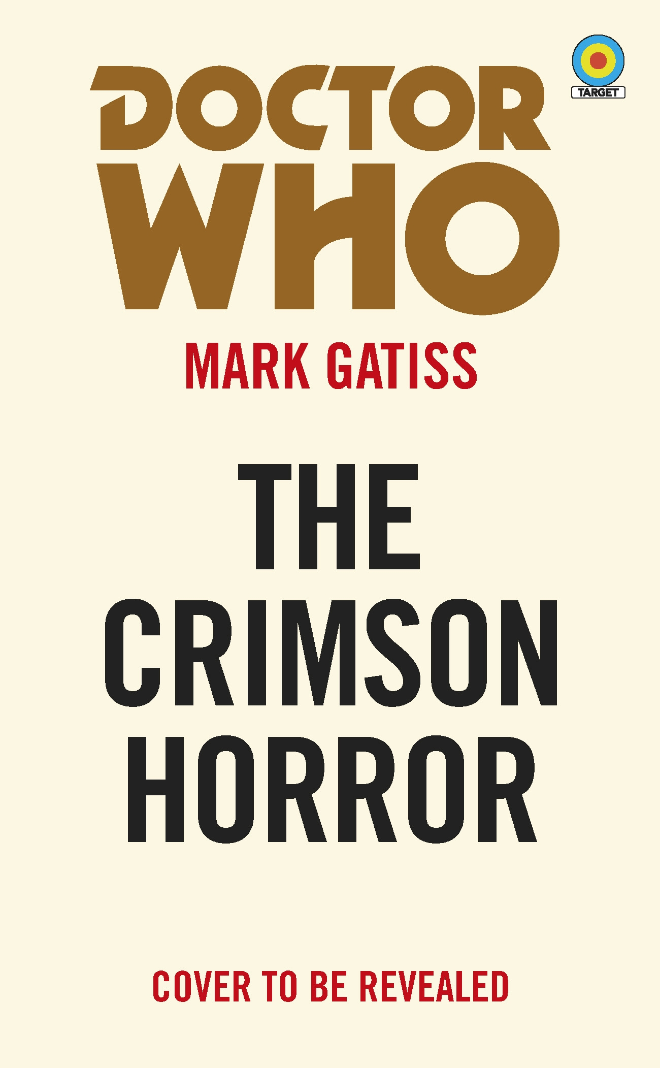 DOCTOR WHO TARGET COLLECTION CRIMSON HORROR MMPB