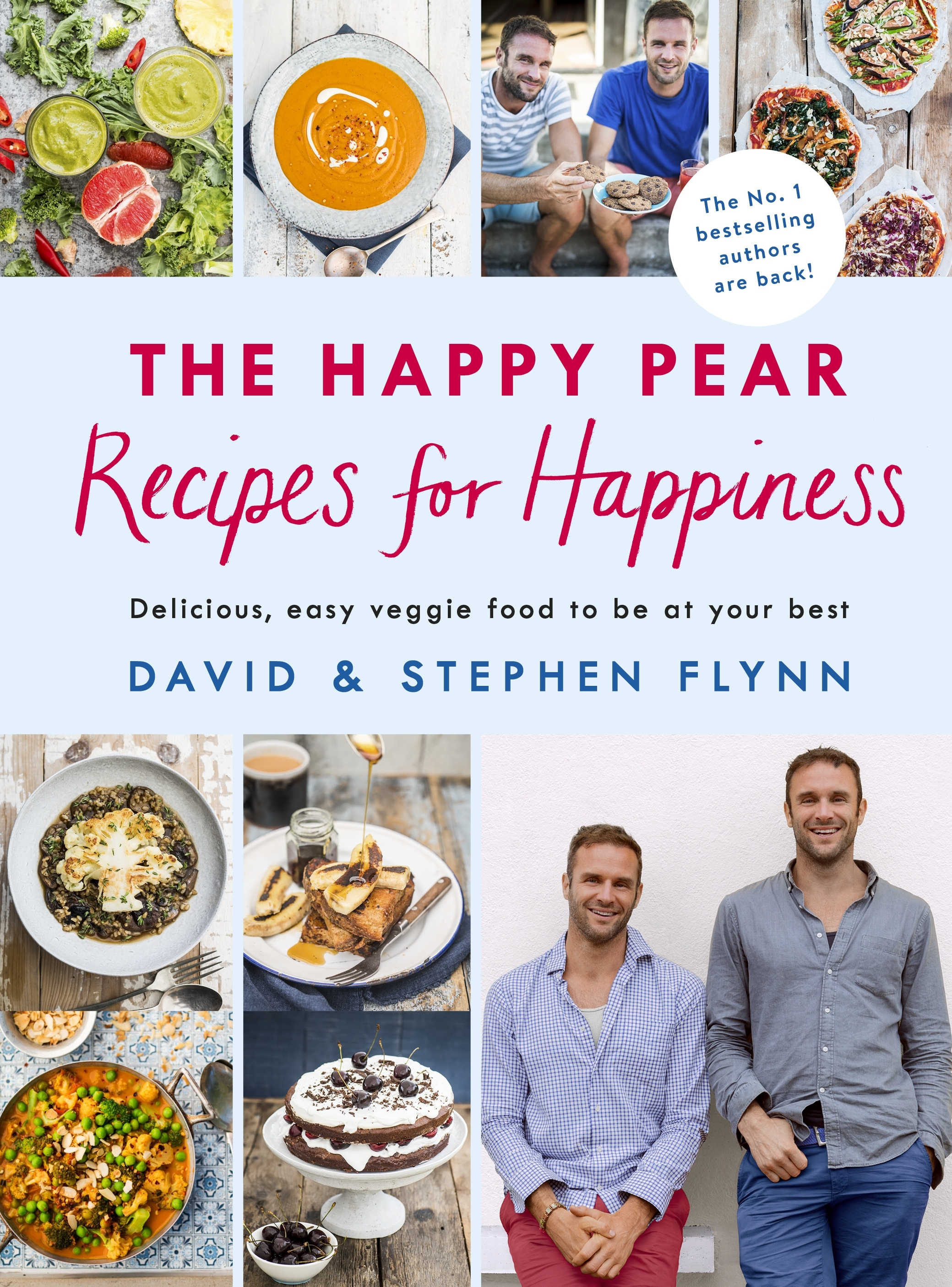 The Happy Pear Recipes For Happiness By David And Stephen Flynn Penguin Books New Zealand