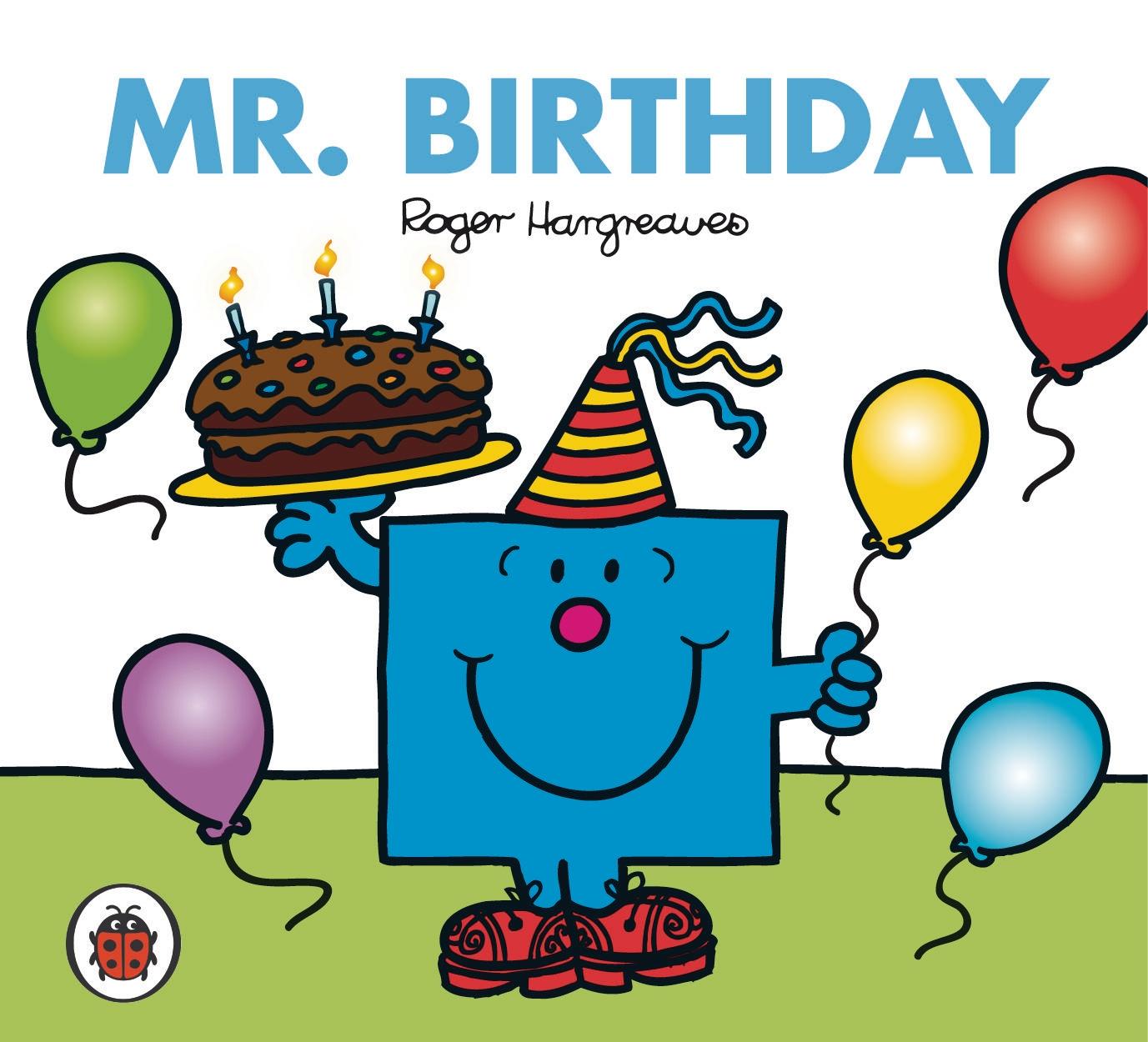 Mr Men And Little Miss Mr Birthday By Roger Hargreaves Penguin