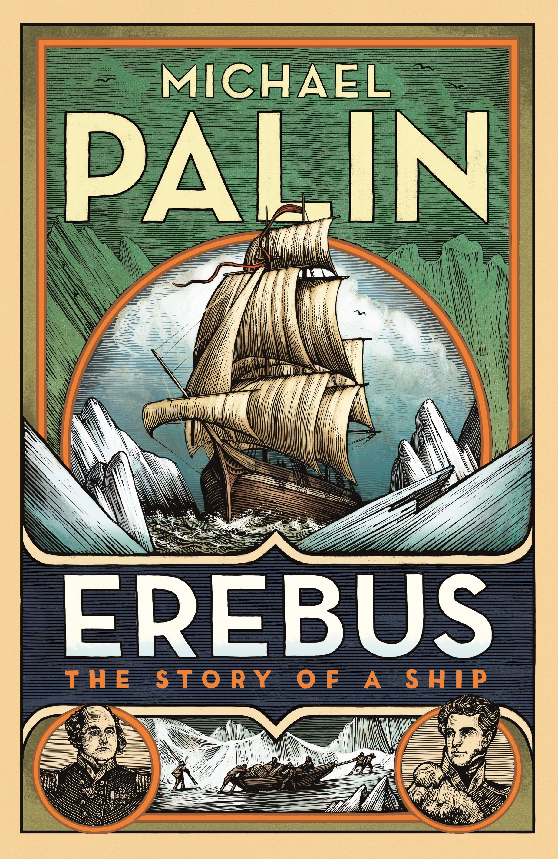 Image result for Erebus: The Story of a Ship by Michael Palin
