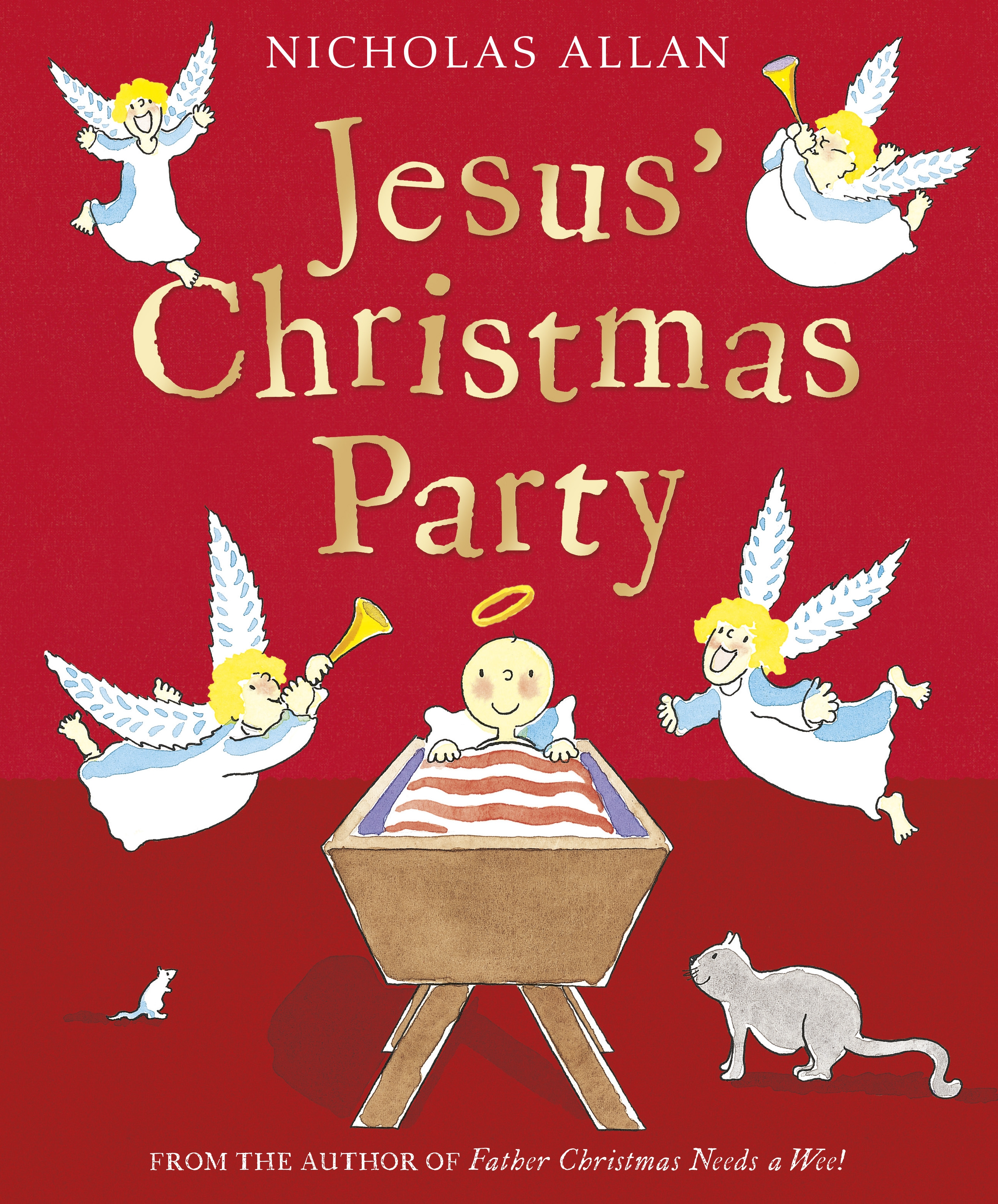 Jesus\' Christmas Party by Nicholas Allan - Penguin Books New Zealand