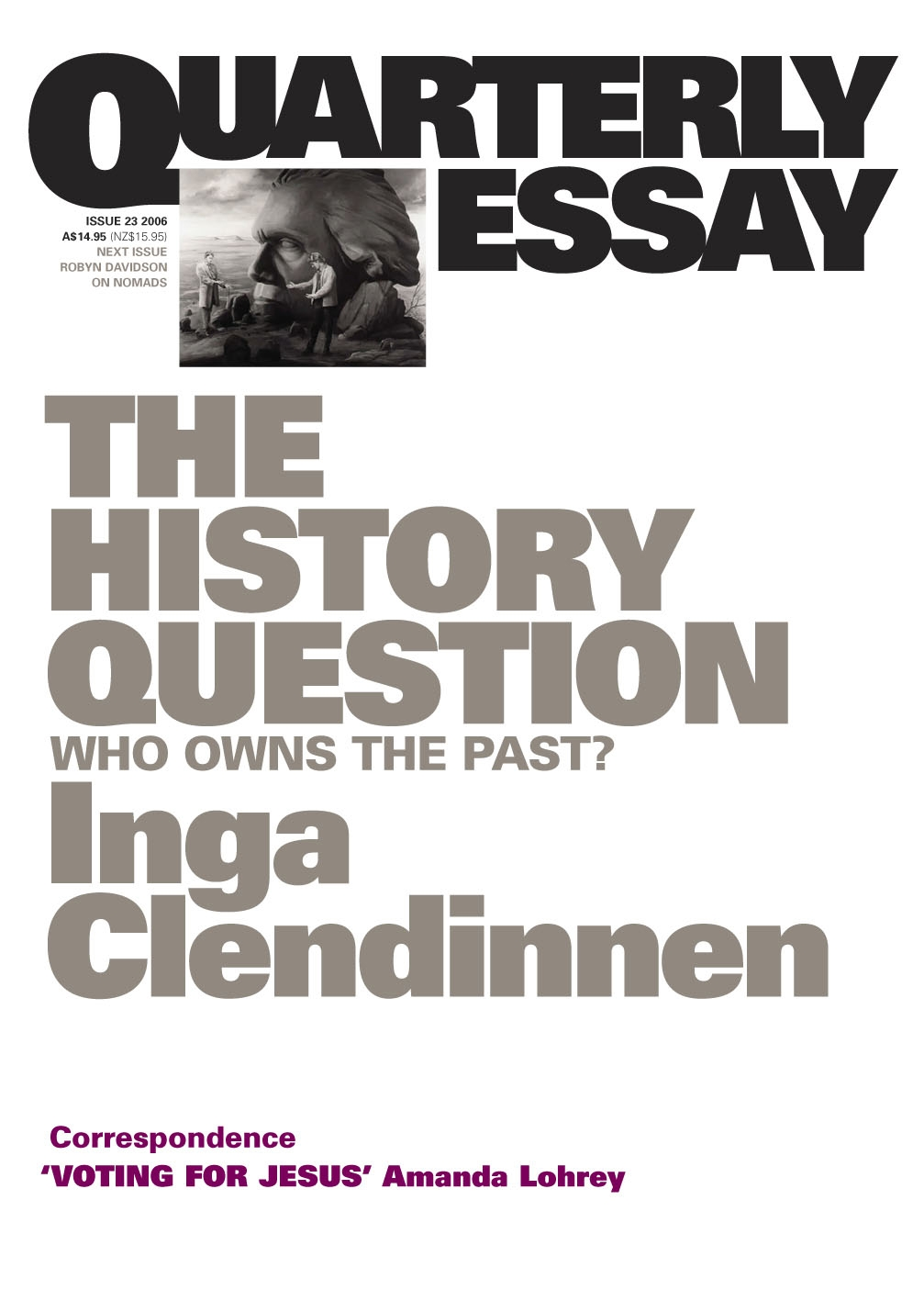 Who owns the past essay