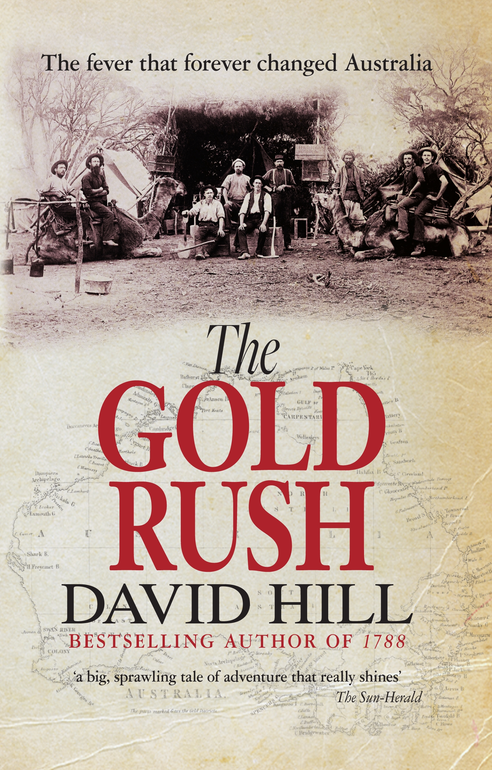 what was the gold rush in australia