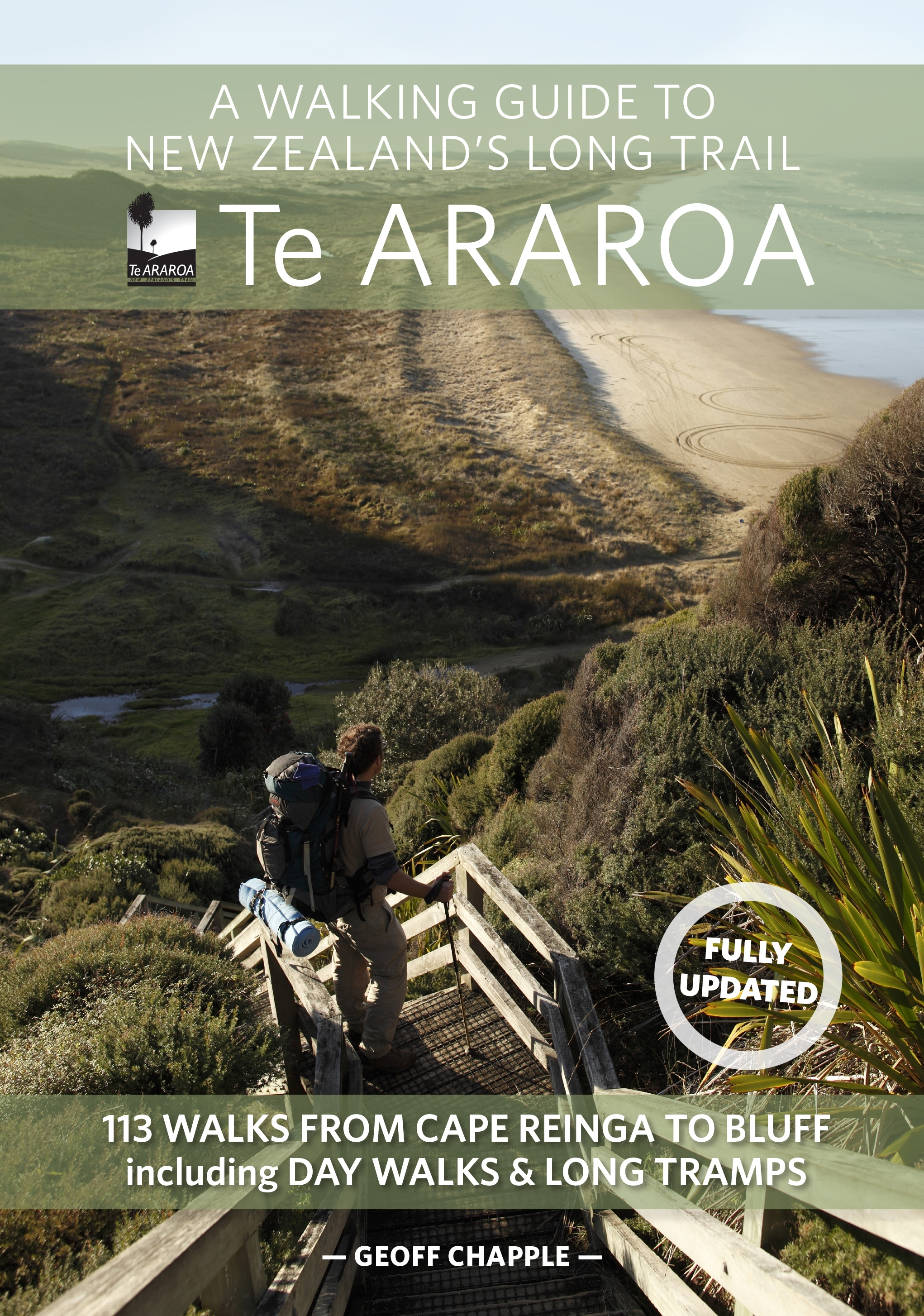 Book Covering Nz : A walking guide to new zealand s long trail by geoff