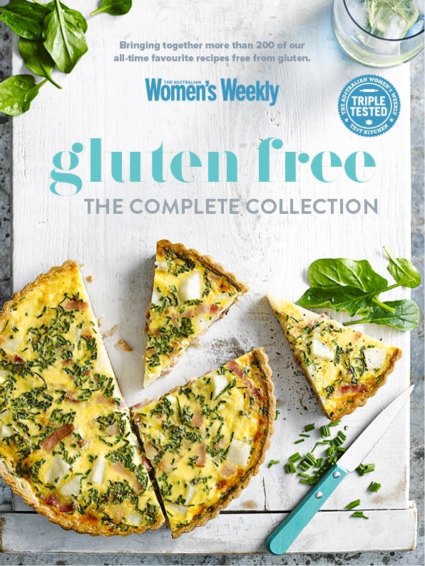 Gluten free the complete collection by the australian womens weekly hi res cover forumfinder Choice Image