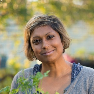 portrait photo of Indira Naidoo