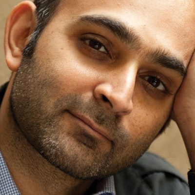 portrait photo of Mohsin Hamid