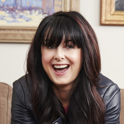 portrait photo of Marian Keyes