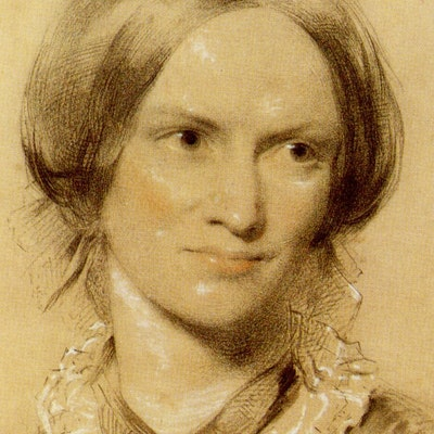 portrait photo of Charlotte Bronte