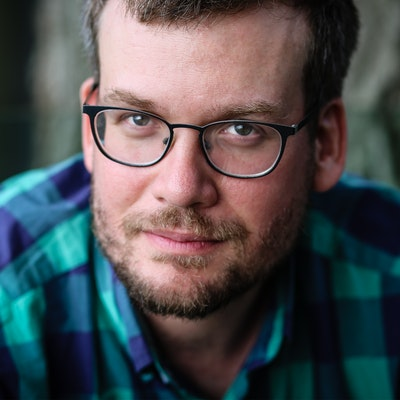 portrait photo of John Green