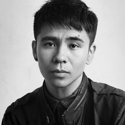 portrait photo of Ocean Vuong