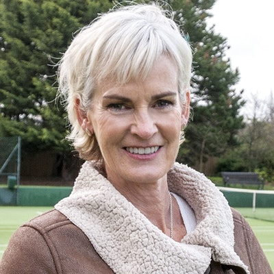 portrait photo of Judy Murray