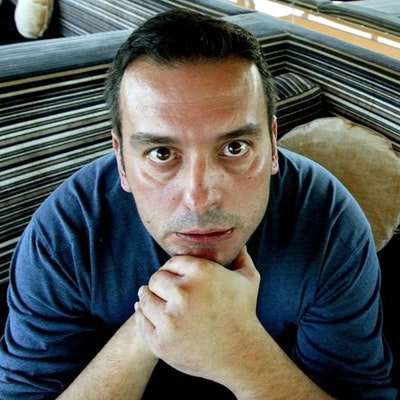 portrait photo of Christos Tsiolkas