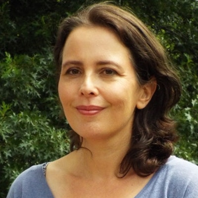 portrait photo of Megan Goldin