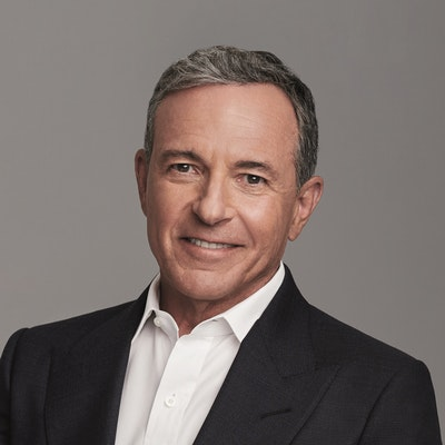 portrait photo of Robert Iger