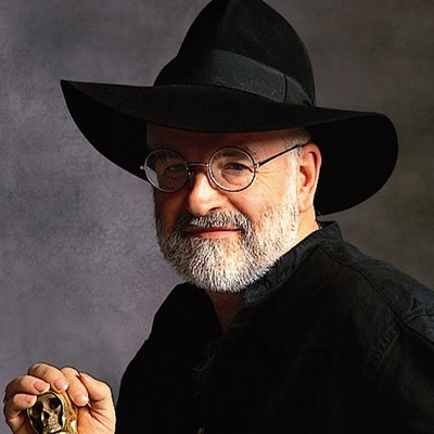 portrait photo of Terry Pratchett