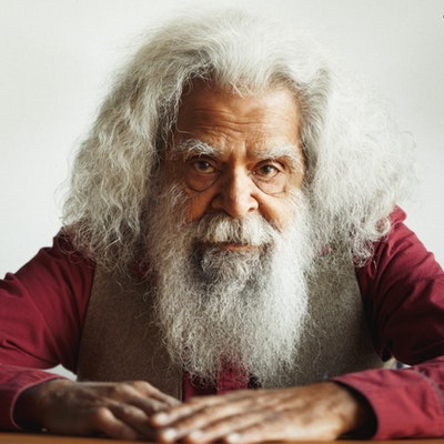 portrait photo of Jack Charles