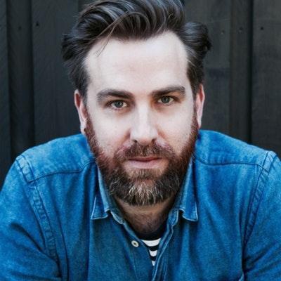 portrait photo of Josh Pyke