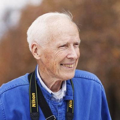 portrait photo of Bill Cunningham