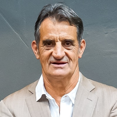 portrait photo of John Baker