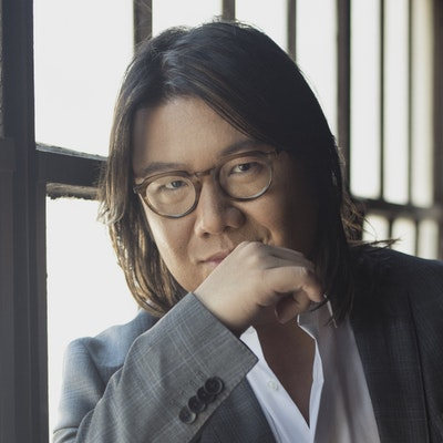 portrait photo of Kevin Kwan