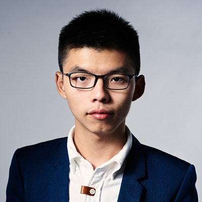 portrait photo of Joshua Wong