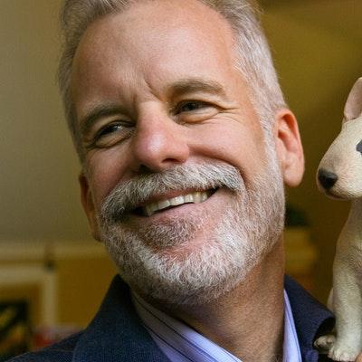portrait photo of Chris Van Allsburg