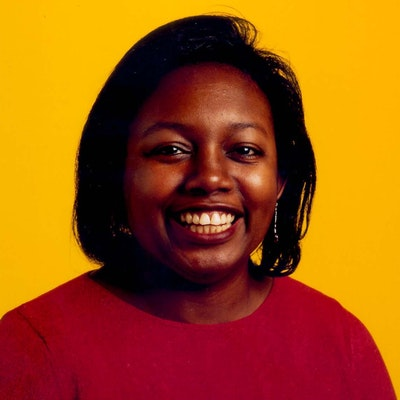 portrait photo of Malorie Blackman