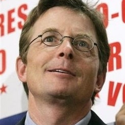 portrait photo of Michael J. Fox
