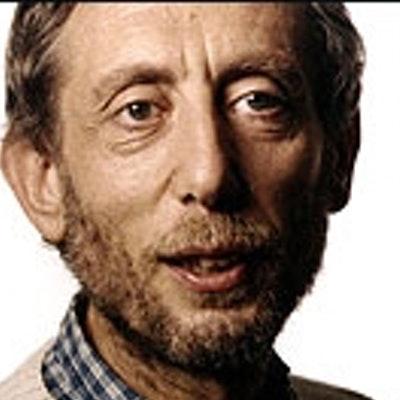 portrait photo of Michael Rosen