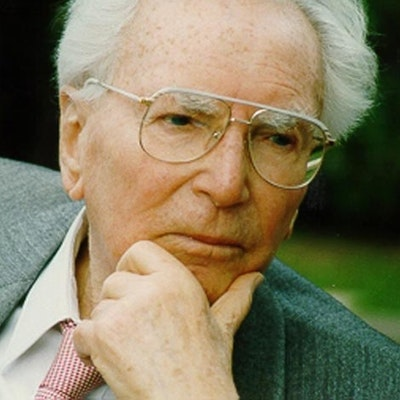 portrait photo of Viktor E Frankl
