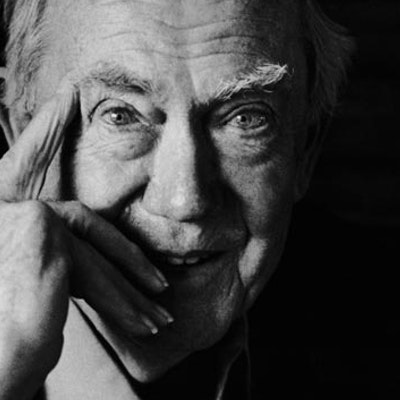 portrait photo of Graham Greene