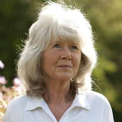 portrait photo of Jilly Cooper