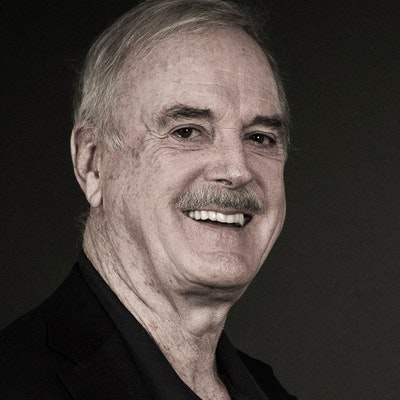 portrait photo of John Cleese