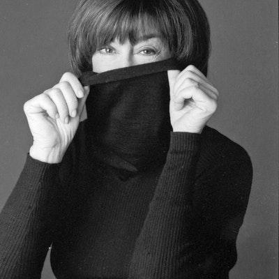 portrait photo of Nora Ephron