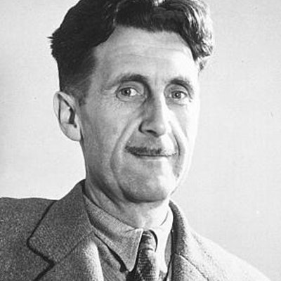 portrait photo of George Orwell