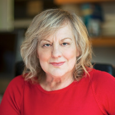 portrait photo of Sue Townsend