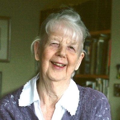 portrait photo of Shirley Hughes
